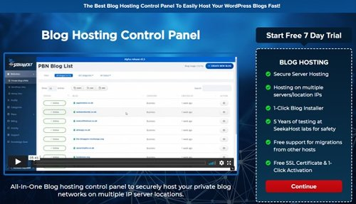 Online Business Blog UK – It's Hosted and Live From SeekaHost App